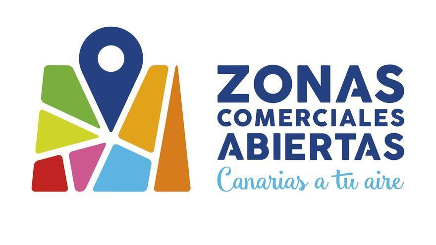 Logotipo de las Zonas Comerciales Abiertas de Canarias