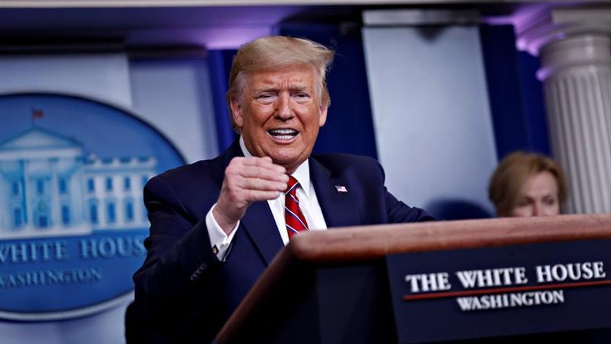 El presidente de EEUU, Donald Trump, en una imagen de archivo.