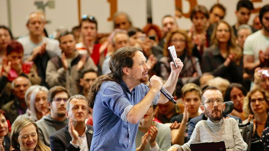 """Iglesias avisa de que la campaña será """"la más determinante de la historia"""" por el porcentaje de indecisos"""