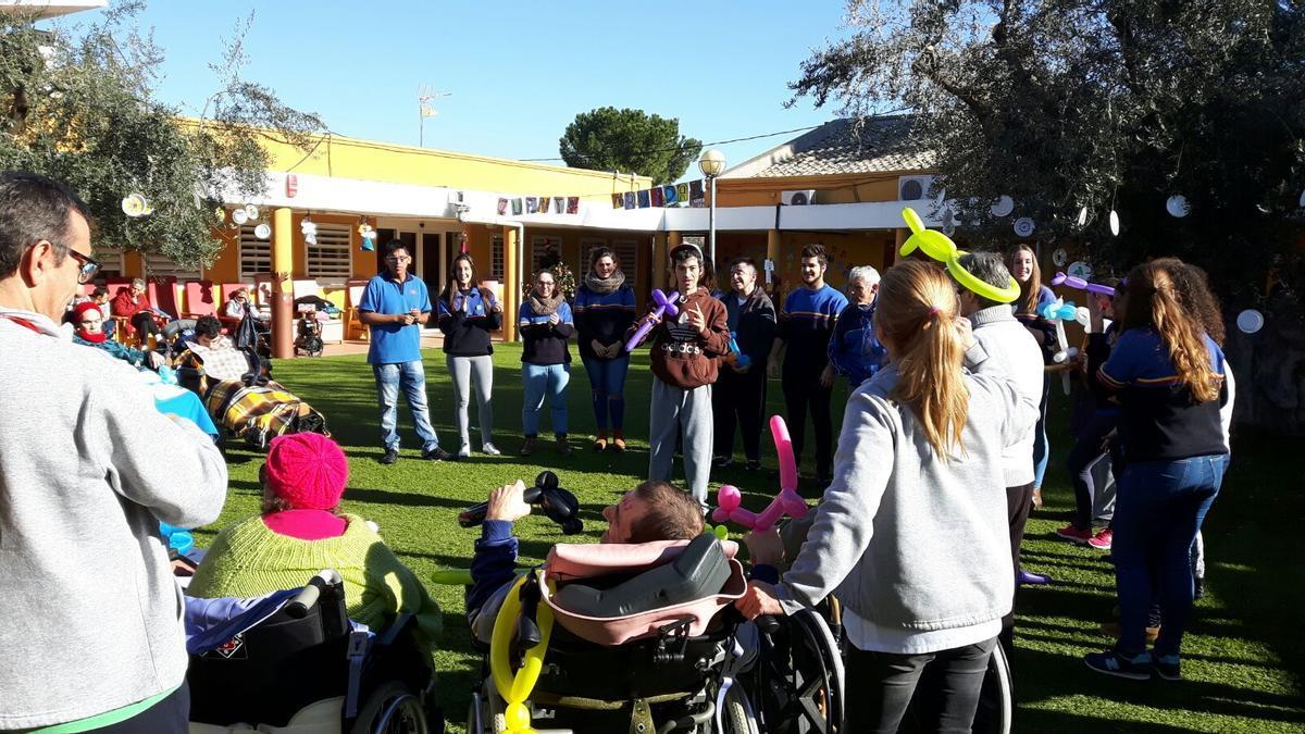 Residencia para personas discapacitadas Los Olivos en el municipio murciano de Cieza