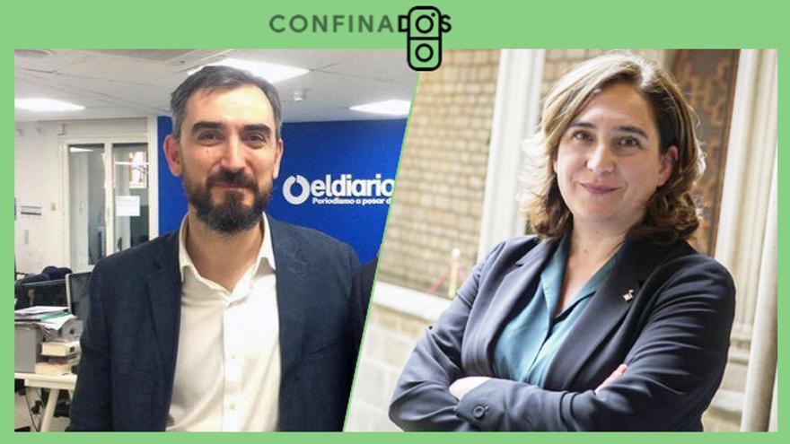 Ada Colau charla este martes con Ignacio Escolar