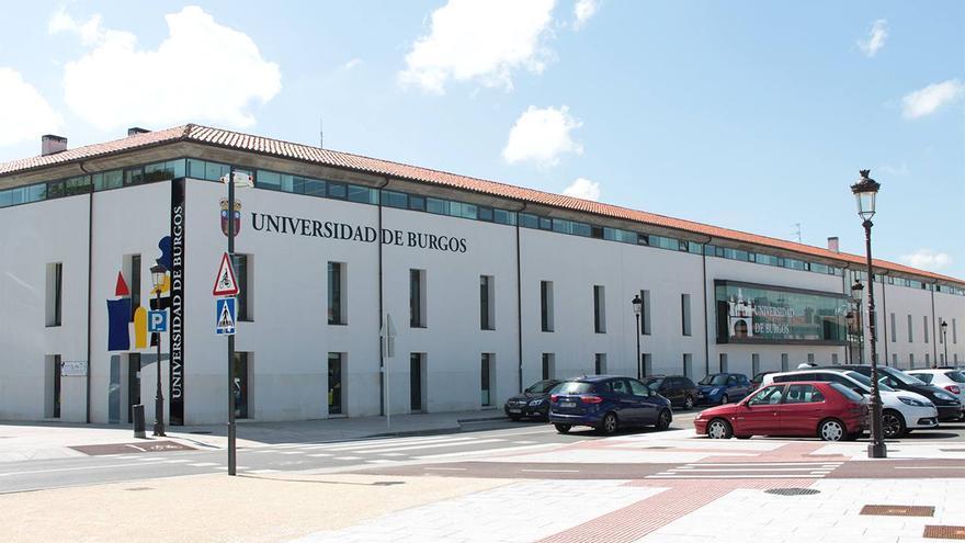 Uno de los edificios principales de la Universidad de Burgos.