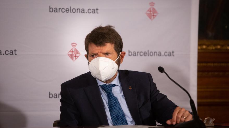 Archivo - El teniente de alcalde de seguridad del Ayuntamiento de Barcelona, Albert Batlle, en una imagen de archivo.