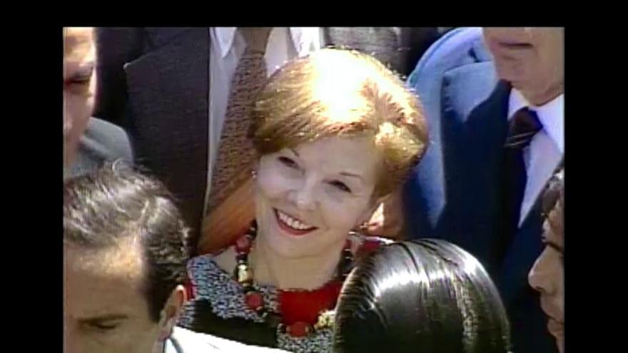 Isabel, en los años 80.