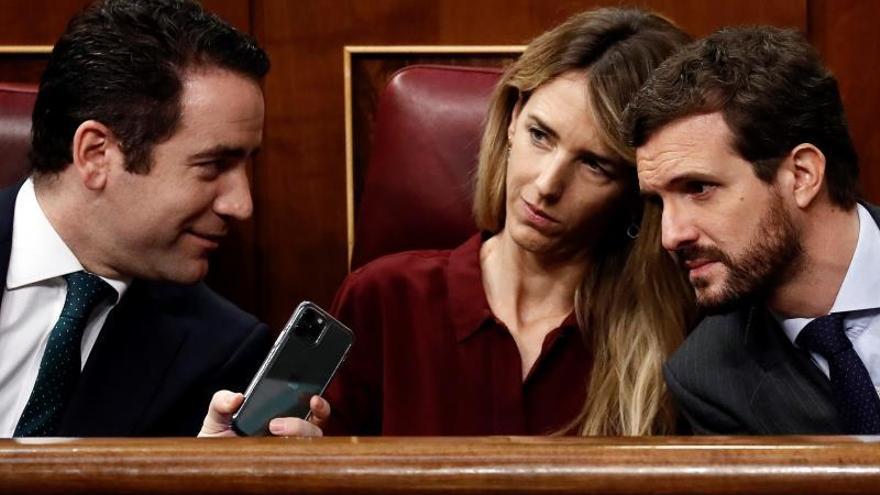"""El PP avisa de una """"coalición ultra"""" de Sánchez contra el Estado constitucional"""