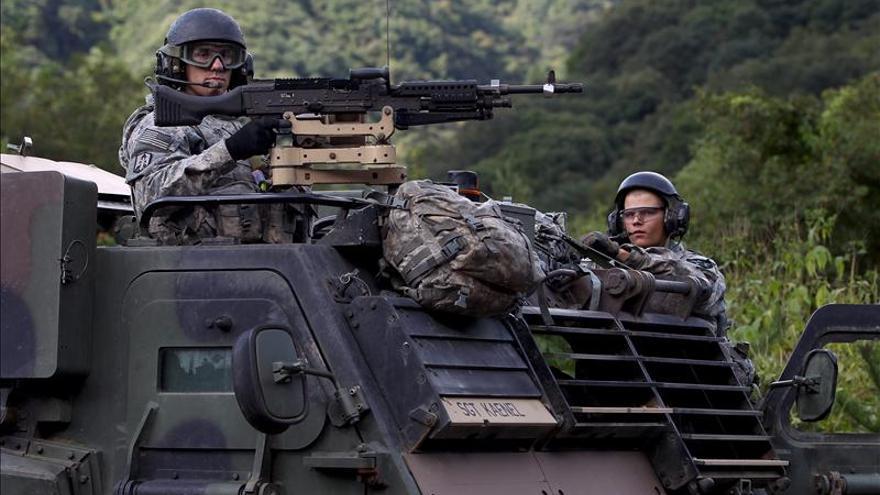 Mueren dos soldados de EEUU durante unas maniobras en Corea del Sur