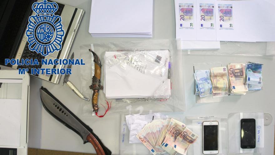 Detenidas tres mujeres en Oviedo que se dedicaban fabricaban y distribuía billetes falsos de 20 y 50 euros