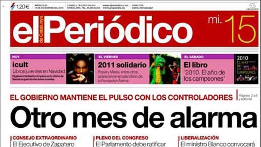 De las portadas del día (15/12/2010) #8