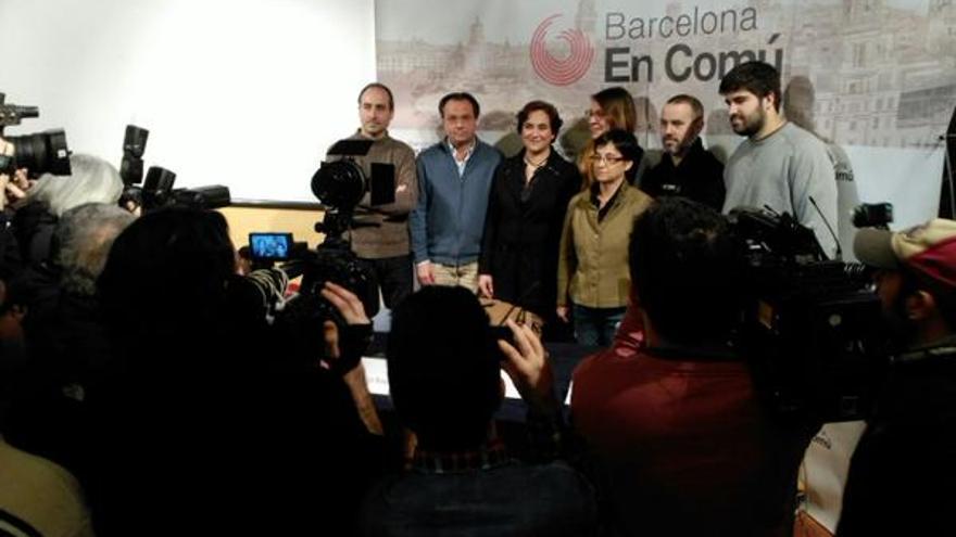 Barcelona en comú presentació