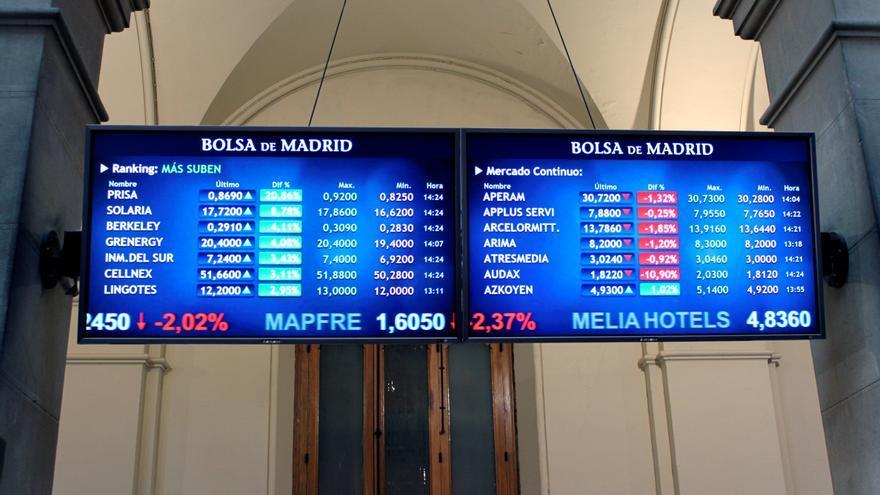 Prisa logra la segunda mayor caída de la Bolsa (6,67 %)