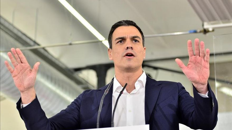 """Sánchez: """"Si el PSOE no gana las elecciones, para mí será un fracaso"""""""