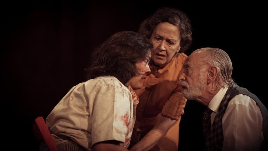 Una escena de la representación.