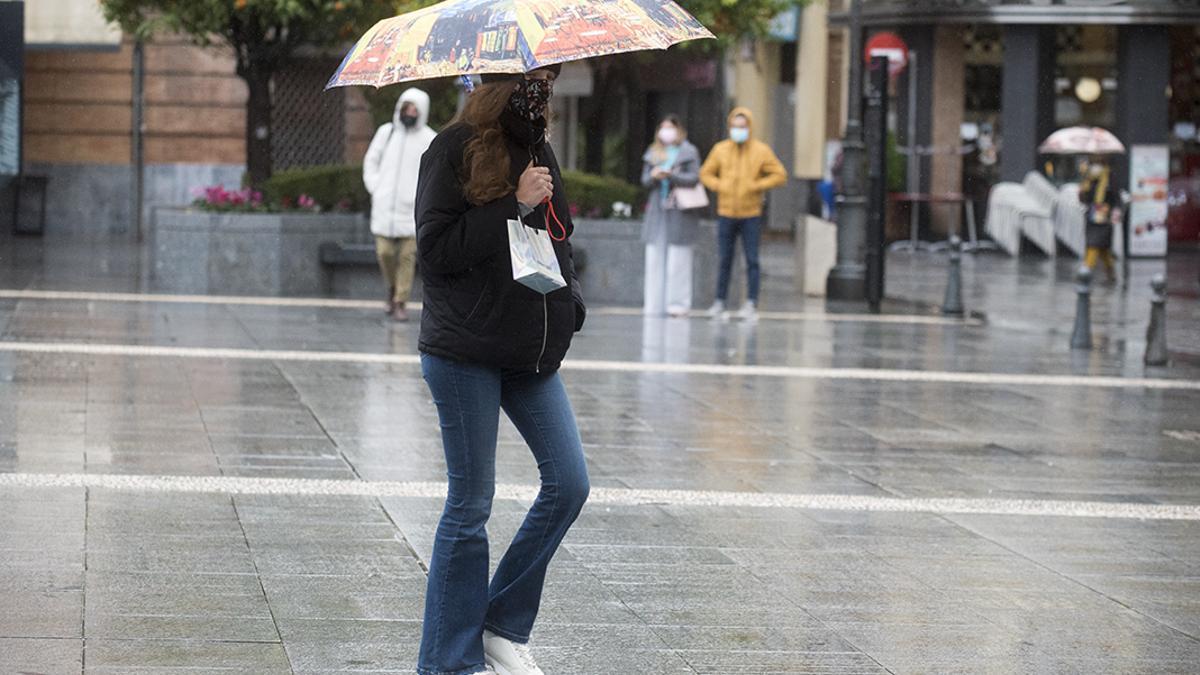 Lluvia en Córdoba.