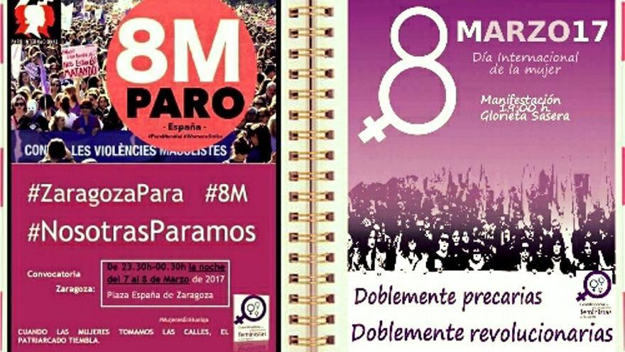 En Zaragoza habrá varios actos con motivo del Día Internacional de la Mujer