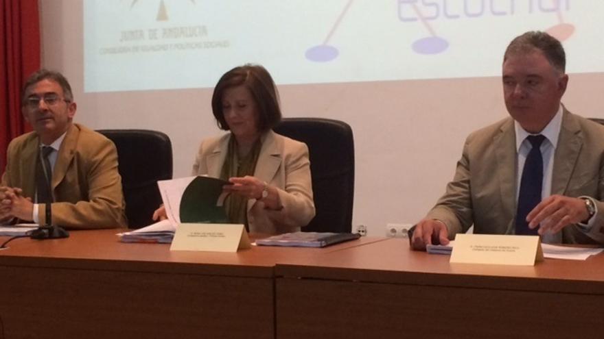 Sánchez Rubio aboga por un pacto en violencia de género que proteja a las víctimas aunque rechacen la ayuda