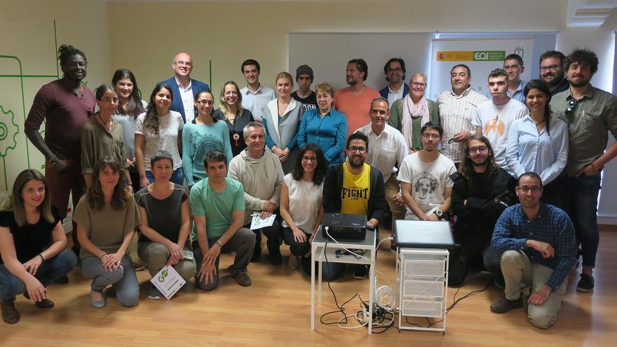 Inauguración del segundo ciclo de 'coworking' del Cabildo y la EOI.