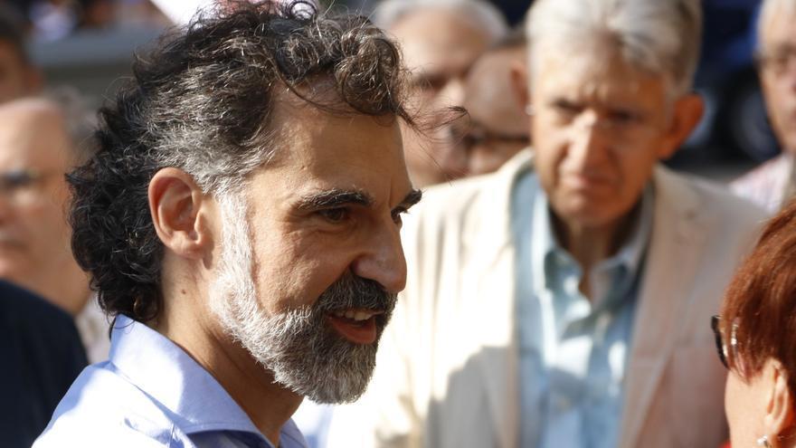 El presidente de Òmnium Cultural, Jordi Cuixar, en una foto de archivo