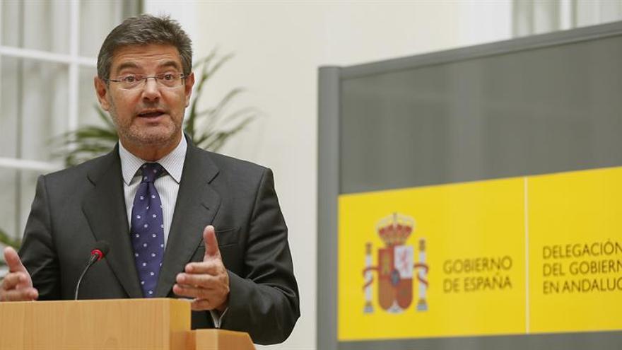 Catalá: el problema de la corrupción no es exclusivo del Partido Popular