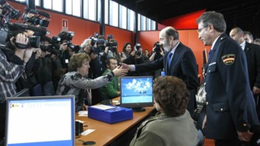 Rubalcaba inaugura una comisaría