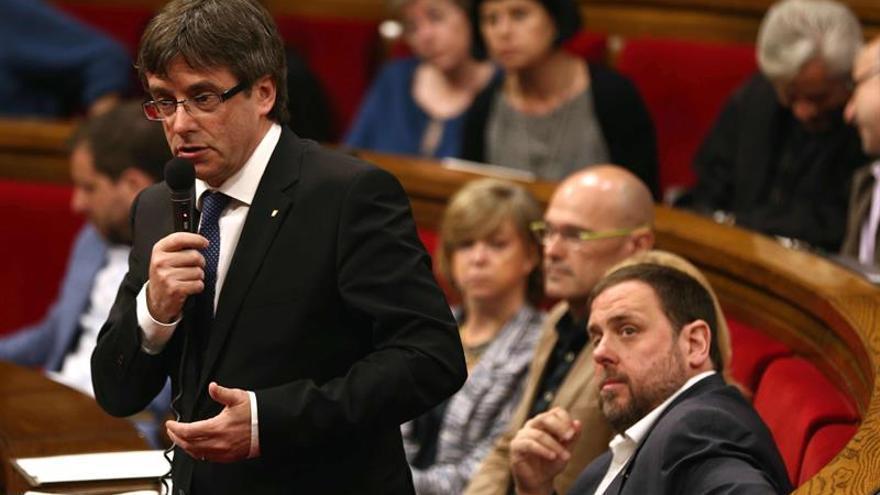"""Puigdemont pide aparcar """"apriorismos ideológicos"""" para aprobar los presupuestos"""