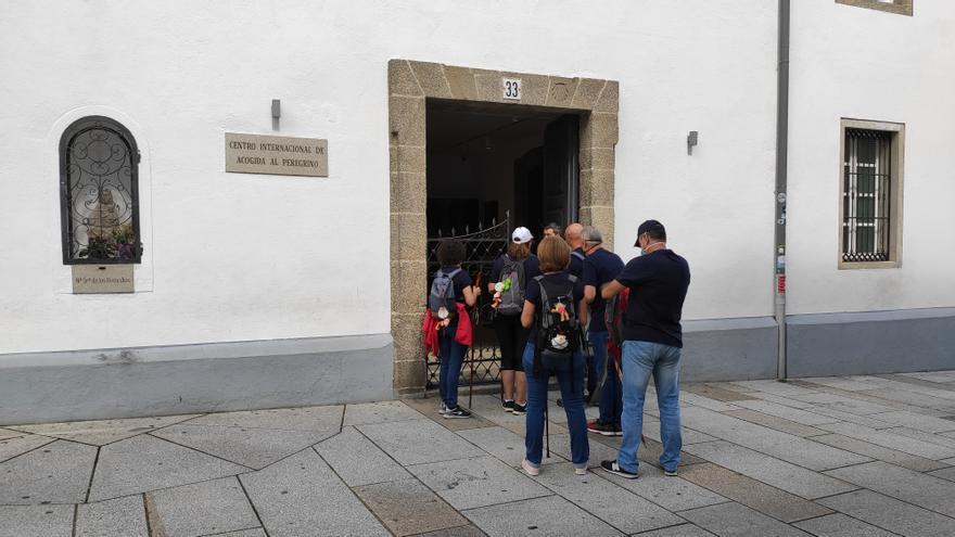 La Oficina de Acogida al Peregrino en Santiago de Compostela reabre sus puertas desde el 1 de julio