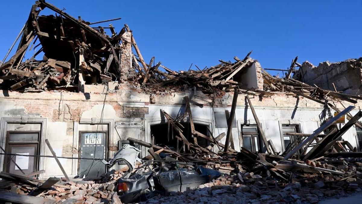 Un violento terremoto de 6,4 grados de intensidad del 29 de diciembre último dejó al menos nueve muertos.