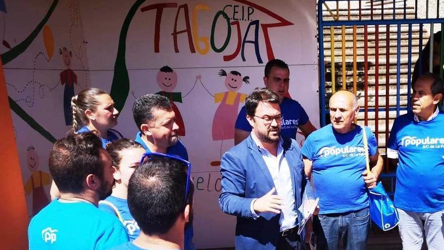 Asier Antona, candidato del PP a la Presidencia de Canarias