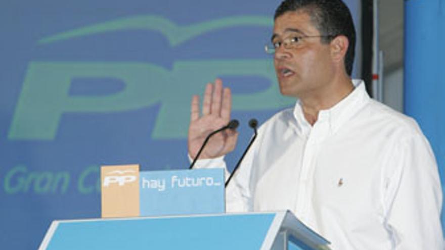 Francisco González, alcalde de Mogán y presidente del PP local. (CANARIAS AHORA)