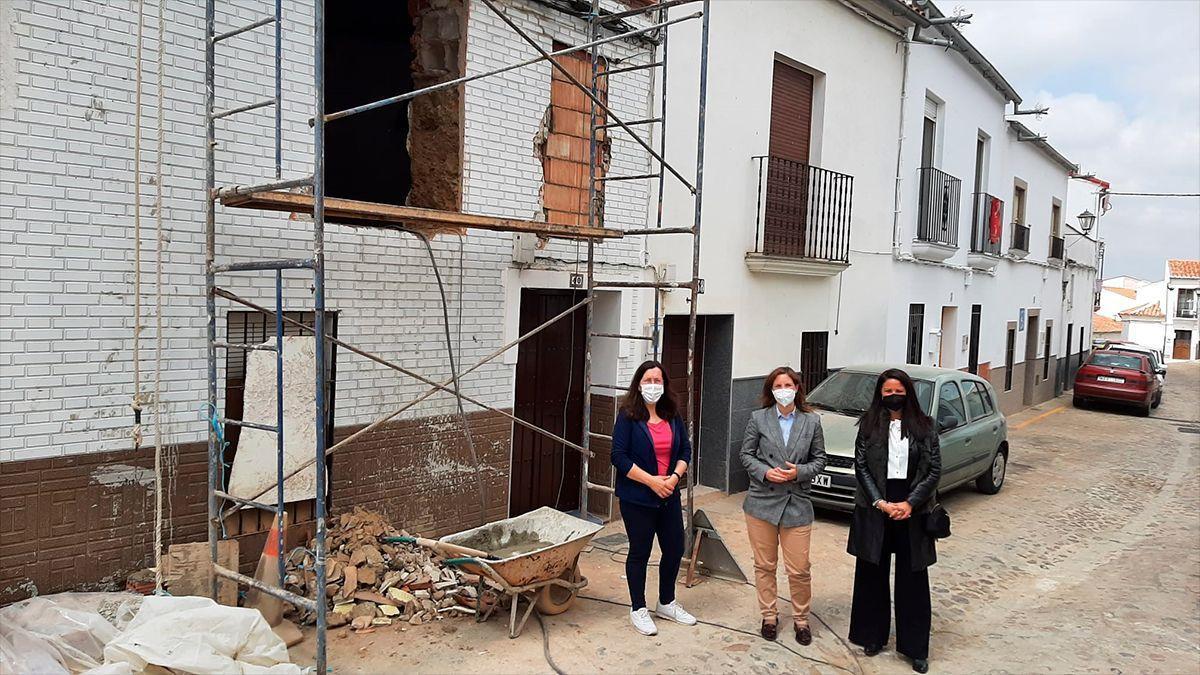 Rehabilitación de viviendas en Fuente Obejuna.