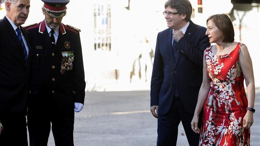 Forcadell llama a los catalanes a salir a la calle para apoyar el referéndum