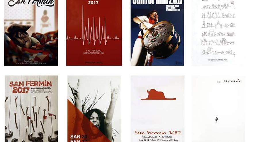 La mujer cobra protagonismo entre los finalistas para el cartel de San Fermín