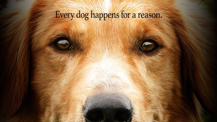Cartel de 'A dog's purpose'