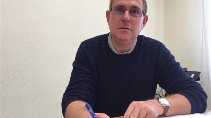 El portavoz de Podemos en el Cabildo de Tenerife, Fernando Sabaté