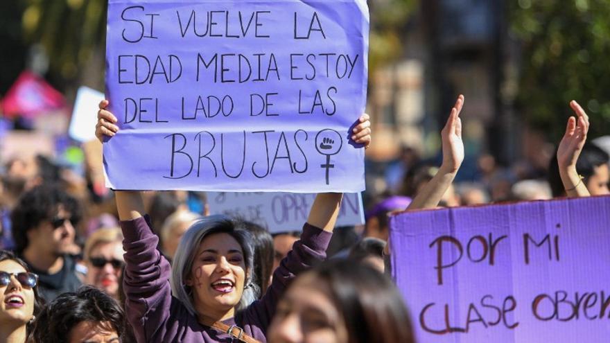 Son muchos los mensajes y pancartas que se han podido ver en las manifestaciones