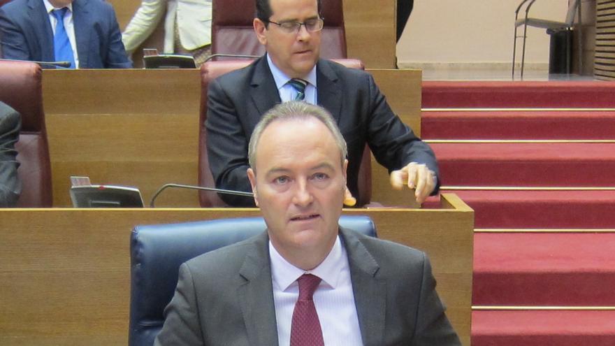 """Fabra asegura que las cuentas de la Comunitat Valenciana para 2014 """"van a garantizar la salida de la situación actual"""""""