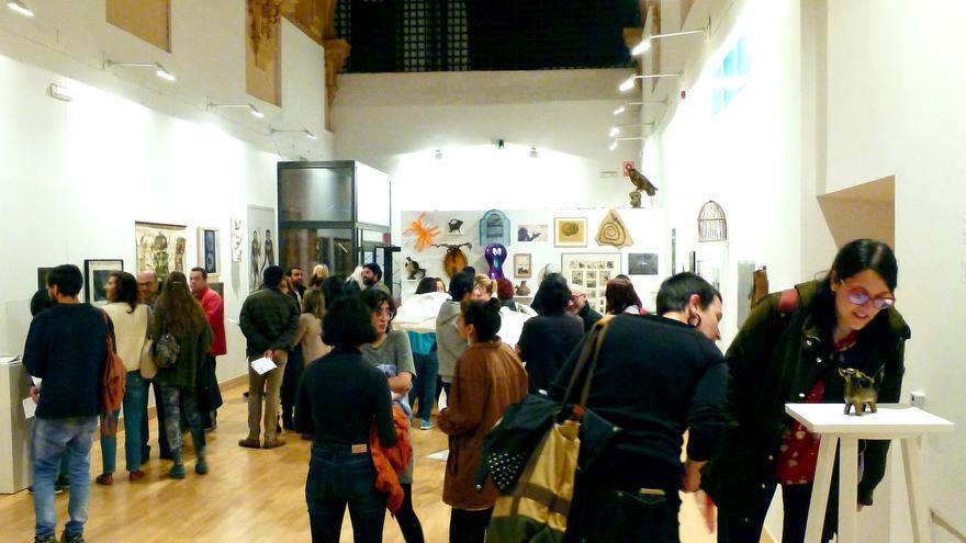 Inauguración de la exposición 'Animales de Compañía: Imagen y Semejanza' de Raúl Hidalgo FOTO: Lamosa