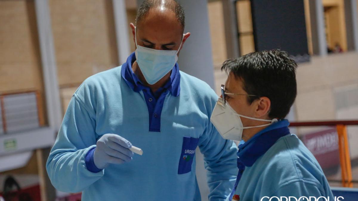 Un test de antígenos