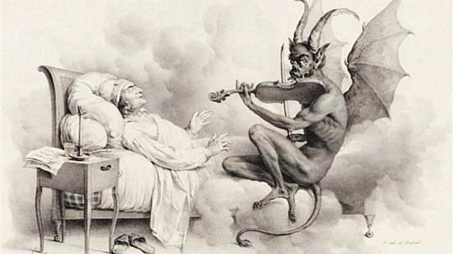 El sueño de Tartini, de Louis-Léopold Bouilly (1824)