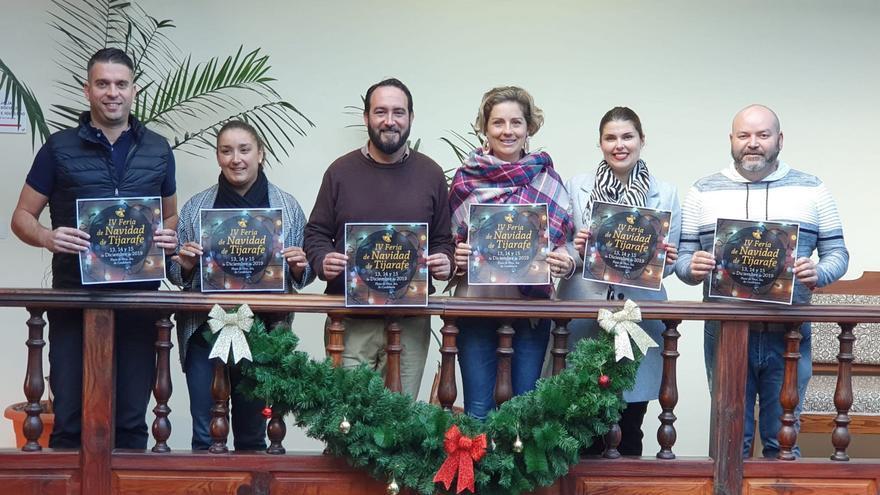 Presentación de la IV Feria de Navidad.