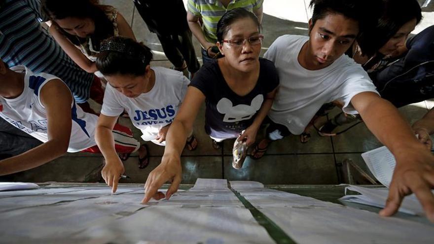 55 Distritos electorales repiten hoy los comicios generales de Filipinas