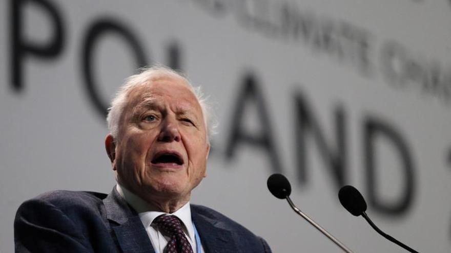 """Attenborough dice que el mundo está """"cambiando"""" sobre el uso del plástico"""