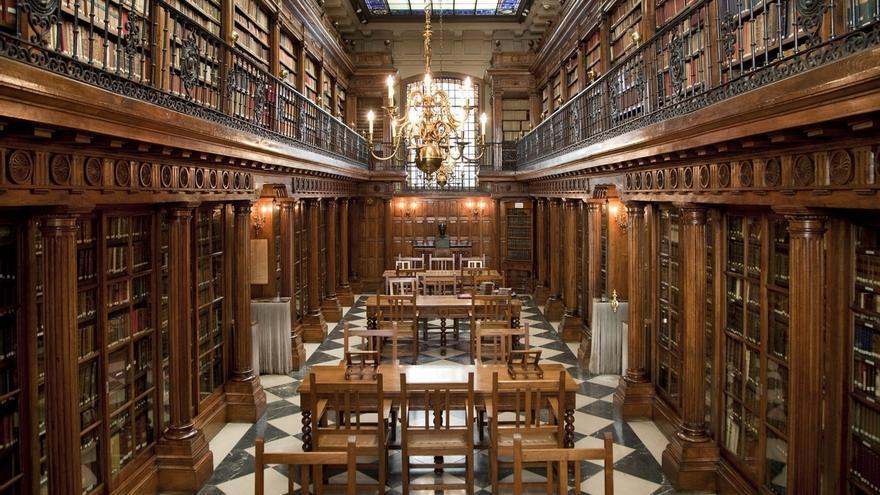 Aprobado el expediente para contratar obras de restauración de vidrieras de la Biblioteca Menéndez Pelayo