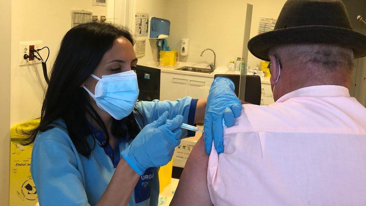 Vacunación con Janssen en Córdoba.