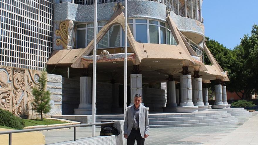 Joaquín Colomé en la Asamblea Regional