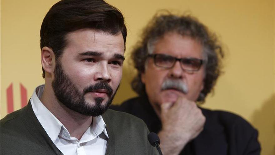 ERC elige al independiente Gabriel Rufián para encabezar su lista para el 20D