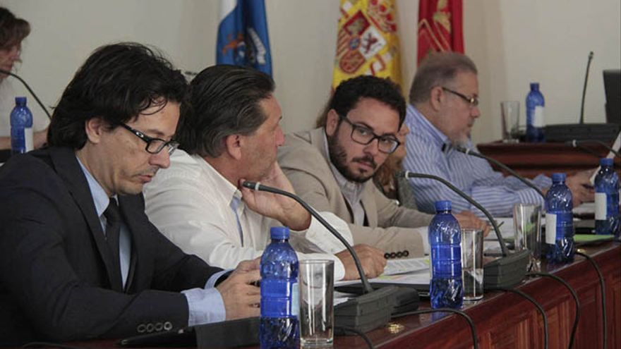 Joel Delgado, portavoz del PP en el Ayuntamiento de Arrecife. FOTO: Diario de Lanzarote.