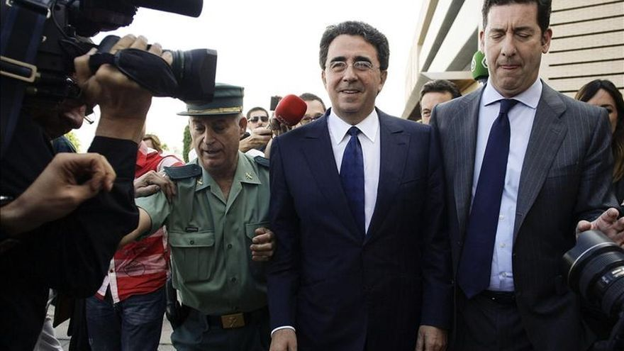El arquitecto Santiago Calatrava a su llegada a los juzgados de Castellón