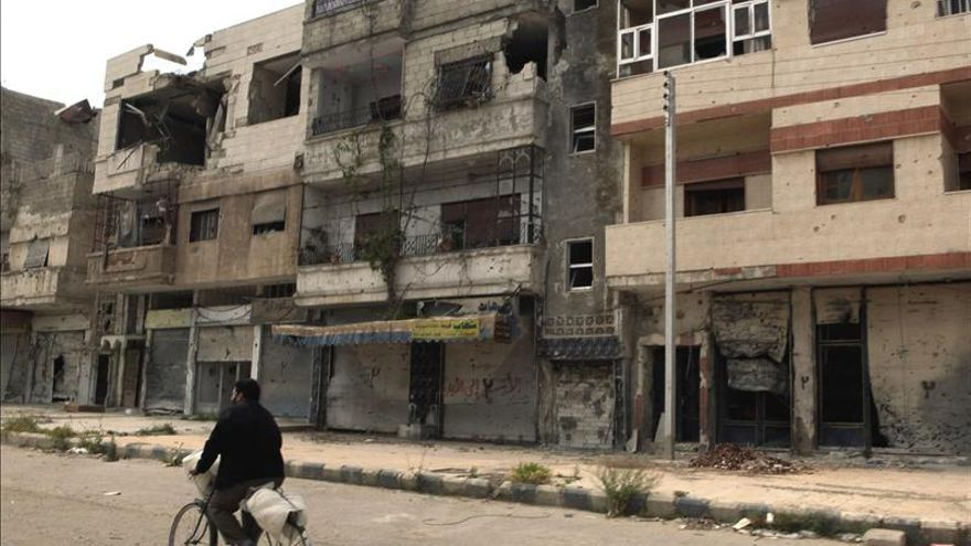 El régimen sirio toma el control de un barrio de Homs con ayuda de Hizbulá