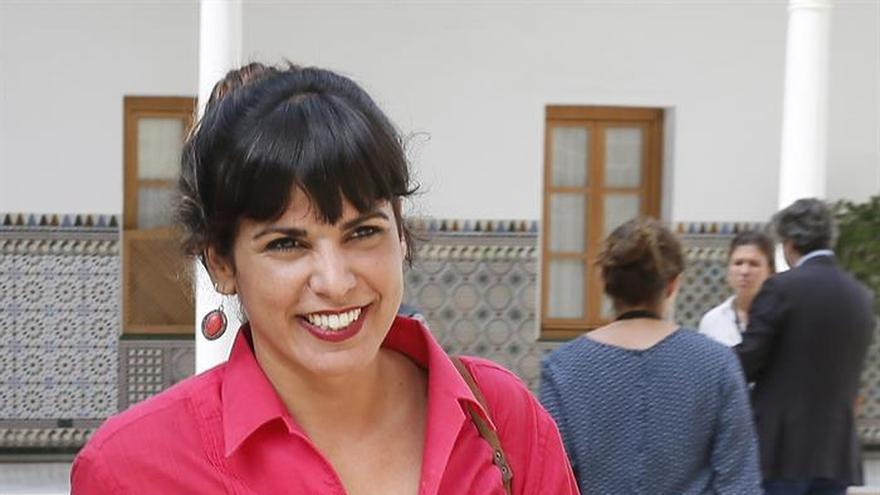 Teresa Rodríguez (Podemos): Díaz ha sido la manijera para que siga Rajoy