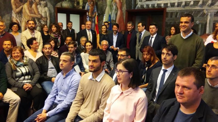 Acto de presentación del programa Agustín Betancourt